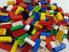 Lego® 200 Basic Steine Bausteine Grundsteine nur mit 4 und 8 Noppen gereinigt