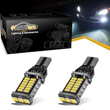 2x High Power 912 921 T15 906 White Error Free LED Bulb for Backup Reverse Light