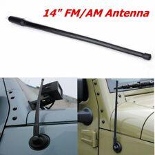 Antenna Reflex 14 Inch Jeep Wrangler JK JKU JL  2007-2018 17212.10 Rugged Ridge