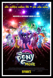 My Little Pony The Movie Poster Print & Unframed Canvas Prints