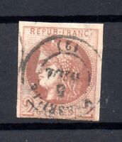 France 1870 2c Ceres imperf fine CDS used #40b WS16878