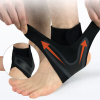 Sports Ankle Support Brace Sprain Strap Stabiliser Guard Foot Ankle Sleeve NEW