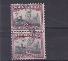 SOUTH AFRICA  1927 - 30  S G 34  2D GREY & MAROON USED