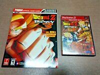 Sony PlayStation 2 PS2 Dragon Ball Z Budokai 3 w/ Official Strategy Guide Lot