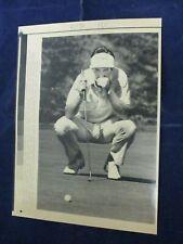 1988 PGA Steve Pate Bank of Boston Classic 6th green Vintage Wire Press Photo