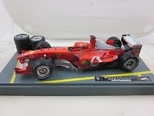 2003 Michael Schumacher Hot Wheels Ferrari limited Edition 1:18 Pit Stop Formula