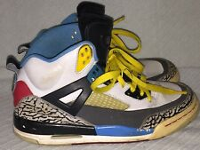 Youth 6Y Nike Air Jordan Spiz'ike 317321-070 Grey/Maize-Dark Shadow Bordeaux