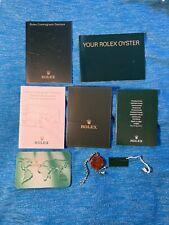 Rolex Daytona Booklet Set From 2001