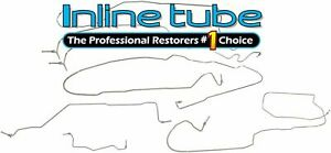 2003-07 Chevrolet GMC 3500 Crew Cab Long Bed Complete Brake Line Kit Tubes SS