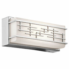 Artículos de iluminación de pared de interior de baño de acero de color principal plata