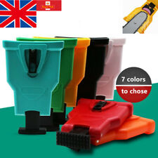 More details for woodworking chainsaw sharpener teeth file tool self grinding chain 7 color
