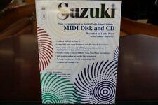 Suzuki Piano Accompaniment to Viola School Volume 1 Midi Disk and Cd