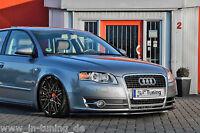 Spoilerschwert Frontspoiler Lippe Cuplippe aus ABS für Audi A4 B7 8E mit ABE