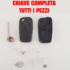 Nero Chiavi Classico 3 Guscio Tasti Resistente Per Fiat Panda Ducato Punto Stili