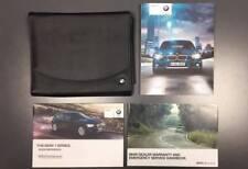 BMW 1 Series Owners Manual Handbook Pack - 11-15