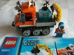 Lego City 60033 Arctic Ice Crawler with Instructions - EXCELLENT CLEAN CONDITION