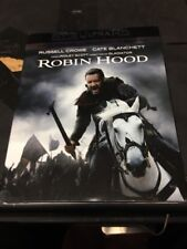 Robin Hood (4k UHD/Blu Ray/Digital) Russell Crowe Brand New