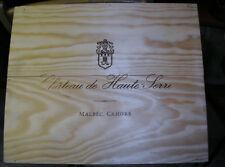Wine Crate Lot X2 MT Chateau de Haute Serre France