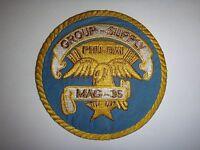 USMC MARINE AIRCRAFT GROUP MAG-36 SUPPY PHU BAI, Vietnam War Patch