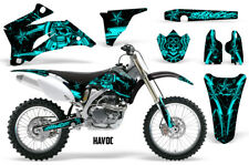 Yamaha YZF250 YZF450 Graphics Kit MX Wrap Dirt Bike Decal Stickers 06-09 HAVOC M