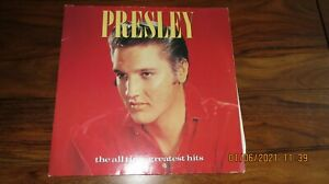 Vinyl Record Presley the all time greatest hits Double album 45 songs RCA Record