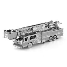 Fascinations Metal Earth 3D Laser Cut Puzzle Model Kit FIRE ENGINE TRUCK MMS115