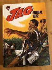JAG Annual 1972 Vintage Book Retro Birthday Gift Present