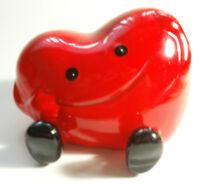 Money Bank Piggy Heart Associat Coeur Coin Tirelire KID Saving Collector Charity