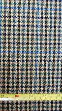 1 meter length Houndstooth Check Tweed