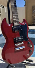 🔥EPIPHONE SG SPECIAL CHERRY ELECTRIC GUITAR‼️🔥