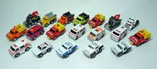 Micro Machines selection of early Galoob Emergency and Service vehicles