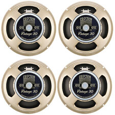 "4 x NEW CELESTION VINTAGE 30 GUITAR SPEAKERS 12"" 8ohm"