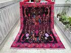 Vintage Handmade Moroccan Rug Azilal Berber Rug Beni ourain Tribal Carpet
