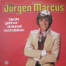 JURGEN MARCUS - DIE UHR GEHT VOR - DU KANNST NOCH BLEIBEN - LP