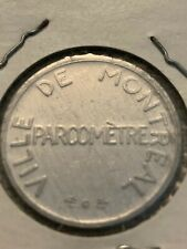 Montreal Parcometre Parking Token Quebec Canada *** Must see ***