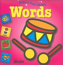 Babys First Library Words by Traditional