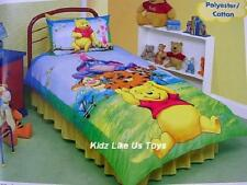 ~ Winnie the Pooh - DOONA SINGLE BED QUILT DOONA COVER + LEARNING SOUND PLAY MAT