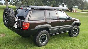 Jeep Grand Cherokee WJ Rock Sliders Rocker Panels Step Bars