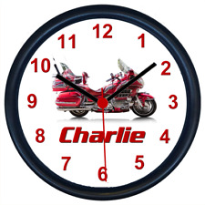 Personalised HONDA GOLDWING Classic Motorcycle Wall Clock