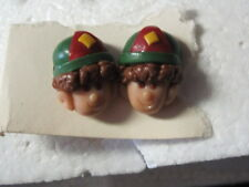 Boy Scout with Hat Design Pierced Ear Rings       c8