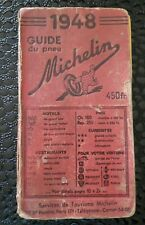 GUIDE MICHELIN France 1948 complet bon état