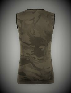 Camouflage Cycling Sleeveless Base Layer - Camo - Made in Italy by Santini