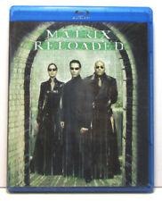 The Matrix Reloaded BLU RAY Movie- Brand New & Sealed- Fast Ship(HMV-256/HMV-244