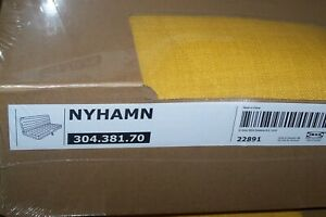 Ikea cover set for NYHAMN 3-Seat Sofa Bed in Skiftebo Yellow 304.381.70
