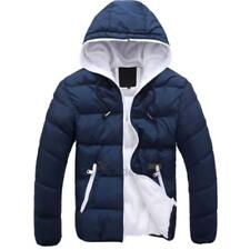 Men Warm Jacket Hooded Slim Casual Winter Coat Top Overcoat Hoodie Outwear Coats