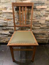Antik Jugen Stil /Art Deco Stuhl Mit Muster ,Neue Polster