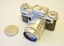 Vintage camera Kiev 4 ( type 3) + Jupiter 9  2/85 lens 1970