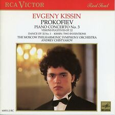 Prokofiev Piano Concerto No. 3 Kissin CD (Free Shipping When You Buy 3+ CD's)