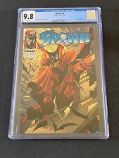 Spawn #3 CGC 9.8 1983 Todd McFarlane Story, Art & Cover!  Violator App