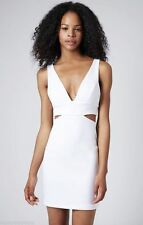 Topshop V Neck Short/Mini Stretch, Bodycon Dresses for Women